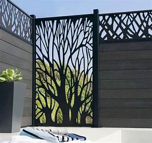 Brise Vue Décoratif : jardin terrasse panneaux brise vue pour se cacher des ~ Preciouscoupons.com Idées de Décoration