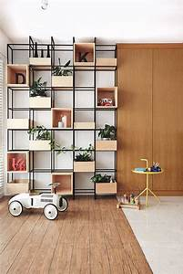 Feature wall design: How to style full-height shelving and