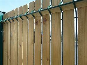 Brise Vue Cloture Rigide : panneau de grillage rigide avec brise vue ~ Edinachiropracticcenter.com Idées de Décoration