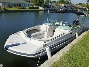 2003 Hurricane Sd237 Deck Boat Detail Classifieds