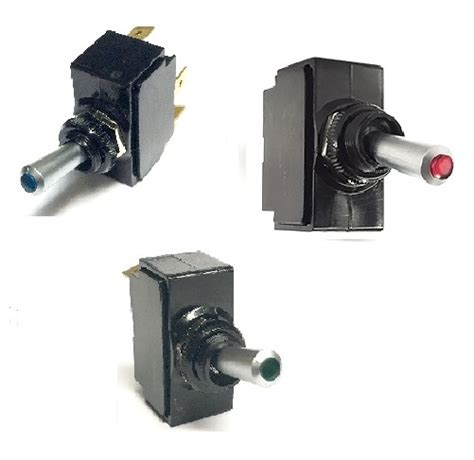 Lighted Toggle Switch Coastal Switches