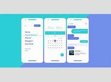 Travel app UI kit for Adobe XD XDGurucom