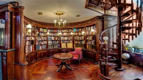 glass home decor classic home library design home office