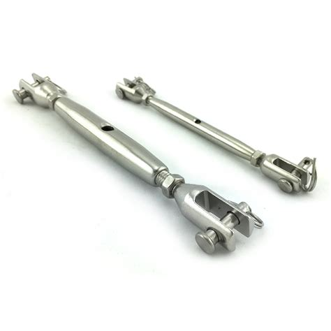 type 316 stainless steel chain stainless steel turnbuckle closed body jaw to jaw