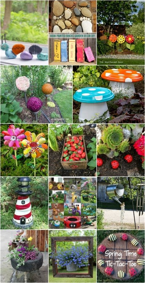 Garden Decoration Images by 30 Adorable Garden Decorations To Add Whimsical Style To