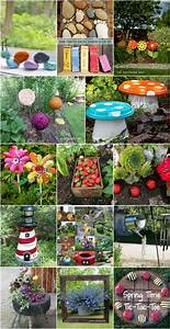 30, Adorable, Garden, Decorations, To, Add, Whimsical, Style, To, Your, Lawn