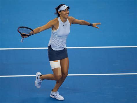 Simona Halep vs. Caroline Garcia 23.10.2017 - WTA Finals - Singapore - TennisLive.com