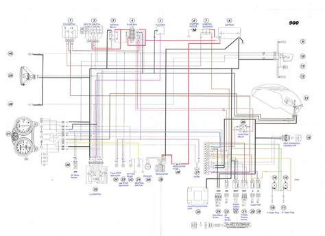 2000 01 ducati 900 i e electrical wiring diagram