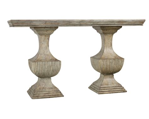 urn style table ls double urn pedestal base accent sofa console table ebay