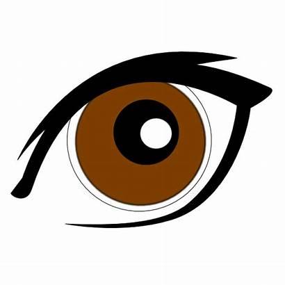 Cartoon Eye Clip Clipart Clker Vector
