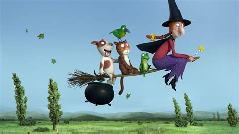 Oscar Crafts Animated Shorts Nominee 'room On The Broom