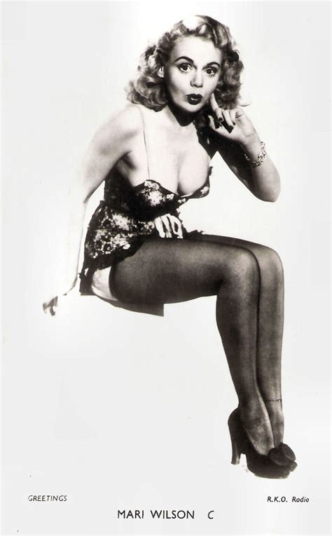 marie wilson british card    series photo