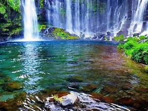 waterfalls pictures for screensavers | ... Waterfall of ...