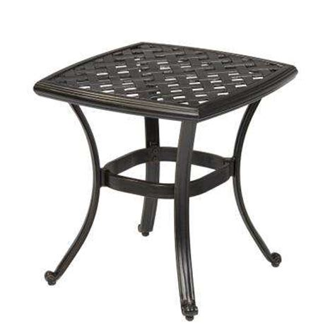 home depot garden table outdoor side tables patio tables the home depot