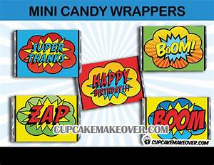 Candy Bar Wrappers Archives - Cupcakemakeover