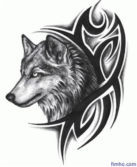 wolf tattoos fimho