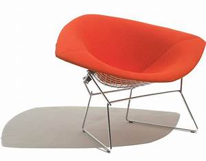 Bertoia Diamond Chair : bertoia large diamond chair with full cover ~ A.2002-acura-tl-radio.info Haus und Dekorationen