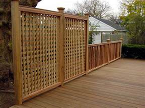 ipe deck and privacy railing flickr photo