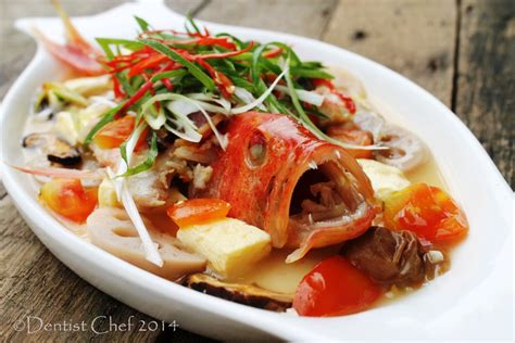 grouper fish steamed teochew recipe coral star leopard seven trout recipes chinese dentistvschef food dishes side seafood asian chef artikel
