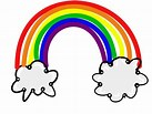 Image result for Clip Art Rainbow