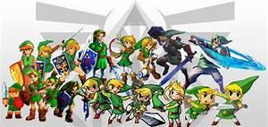 L'évolution des personnages dans les jeux Zelda de 1986 à ...