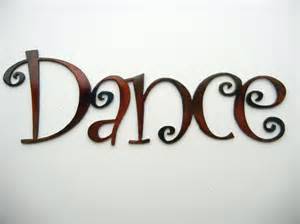 Dance Word Clip Art