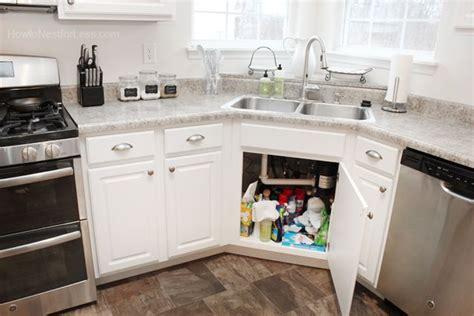 under sink kitchen cabinet organize kitchen sink cabinet organize me pinterest