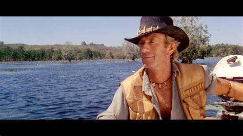 crocodile dundee river scene silent rushes youtube