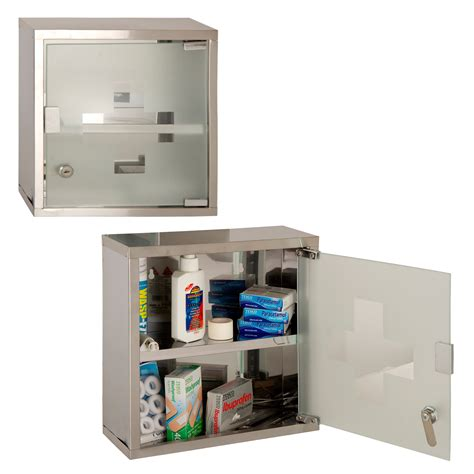 Lockable Medicine Cabinet Argos wall mounted lockable 2 medicine cabinet cupboard