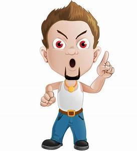 Bad Boy Vector Character - Vector Characters