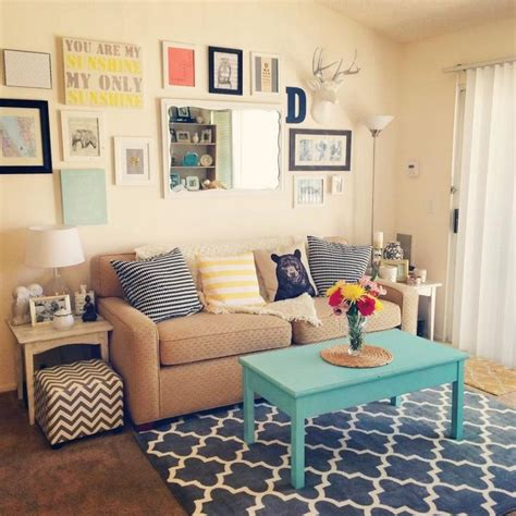ideas  small apartment decorating