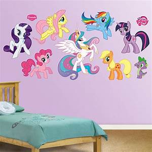 fathead my little pony wall graphic collection With cute my little pony wall decals