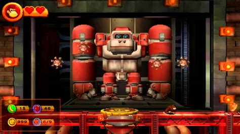 donkey kong country returns    robo factory youtube