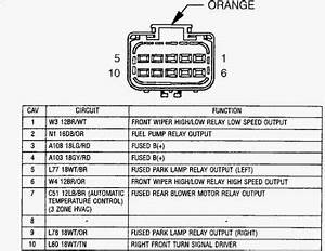 Wiring Diagram 2002 Town And Country Ipm