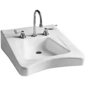 mansfield wheelchair ada wall mount bathroom sink 8
