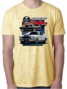 Ford Mustang Shirt Various Shelby Mens Burnout Tee T-Shirt - Ford Mustang Shirt Various Shelby