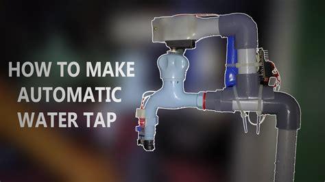 automatic water tap hand sensing arduino