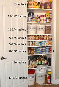 Small pantry its really easy to organize one for Organizing your pantry shelves