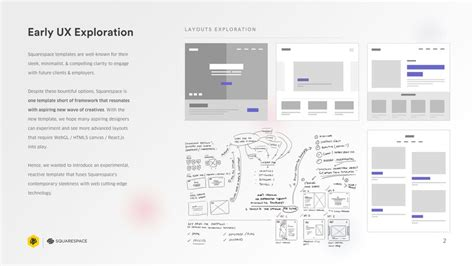 Stardust  A Squarespace Template  2017 D&ad New Blood