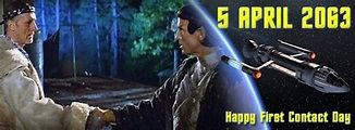 Happy First Contact Day! | Trek Mate