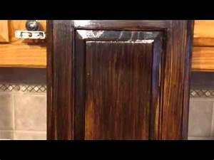 Antique Gel Stain Glaze Cabinets Grand Peninsula 75054