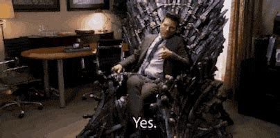 sitting   throne gifs find share  giphy