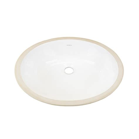 white oval vessel sink ronbow oval undercounter ceramic vessel sink in white