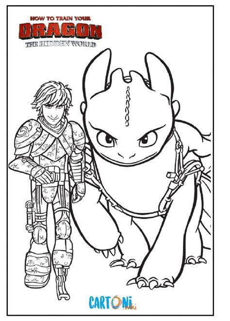 dragon trainer il mondo nascosto disegni cartoni animati