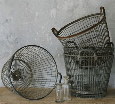 wire storage baskets for kitchen 25 best ideas about vintage wire baskets on 1922