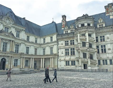 Chateau Royal De Blois Is The Architectural Showpiece Of
