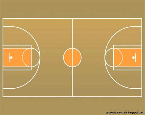 Clip Art Basketball Court Floor
