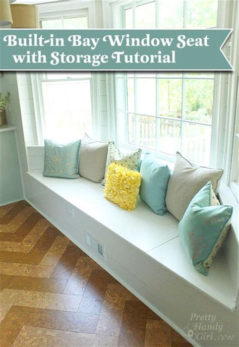 bump  window seat woodworking projects plans
