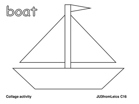 sailboat template boat template by ju3fromleics teaching resources tes
