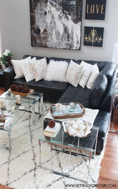 Gray Sectional Living Room Ideas by Rustic Glam Living Room New Rug Setting For Four